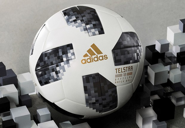 Adidas Telstar 18, bola oficial da Copa do Mundo da Rússia (Foto: Divulgação/Adidas)
