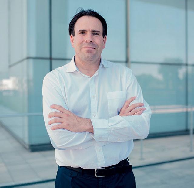 Pedro Pablo Pérez, vice-presidente de segurança do Grupo Telefónica (Foto: Jorge Cueto)