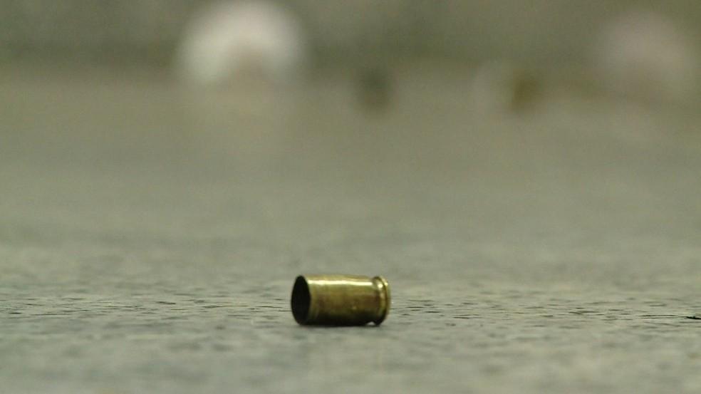 Capsula de bala  — Foto: Reprodução/TV Globo