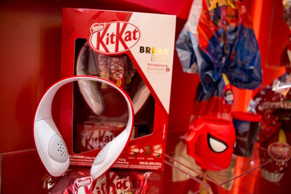Kit Kat teve linha ampliada na Páscoa 2018 (Foto: Marcelo Brandt/G1)