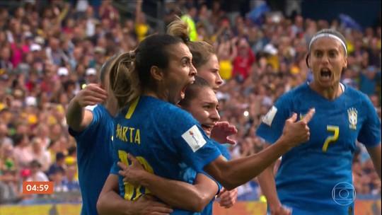 Marta fala sobre a busca da igualdade entre homens e mulheres no futebol