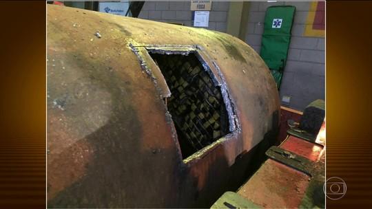 Mais de uma tonelada de cocaína é encontrada escondida no Porto de Santos