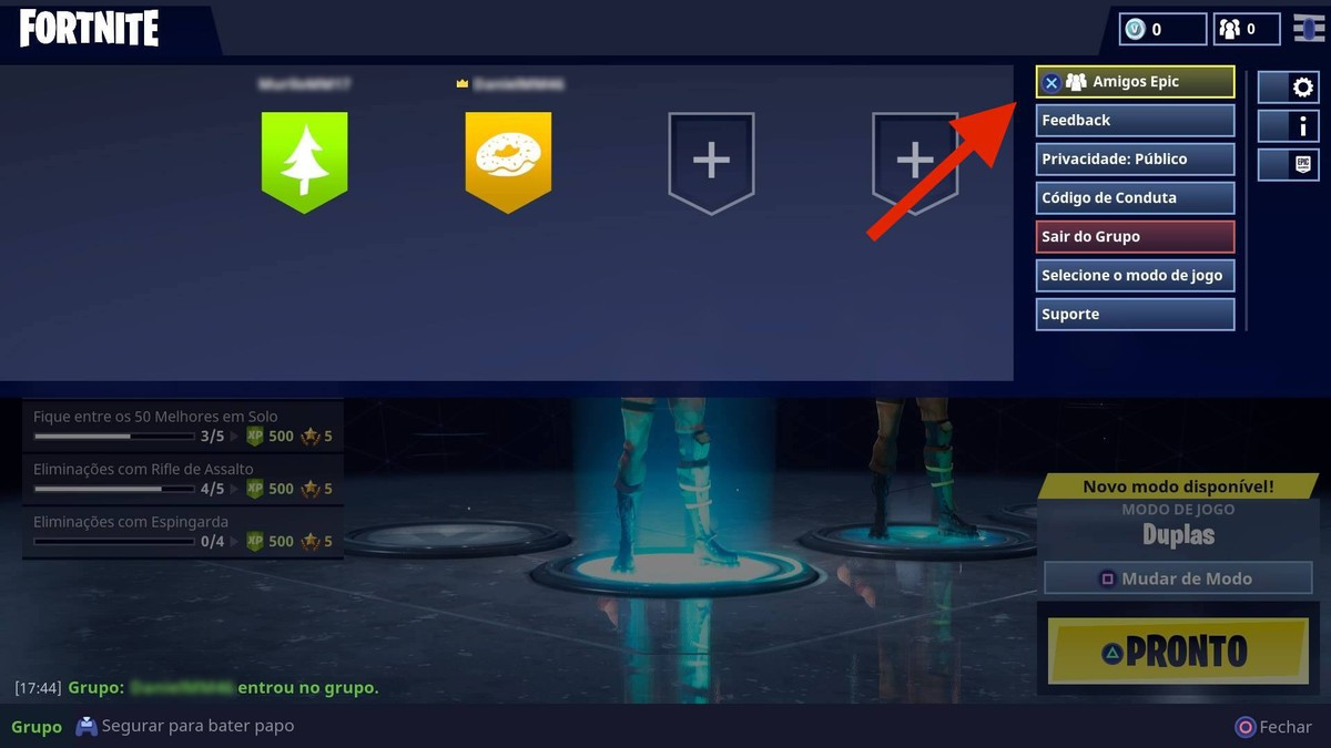 fortnite how to play pc with friends in xbox one ps4 and mobile action games - how to add people on xbox fortnite