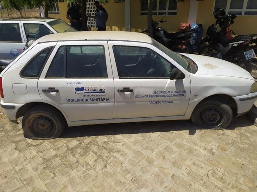 Veículos estão entre os itens disponíveis no leilão — Foto: Prefeitura de Salgueiro