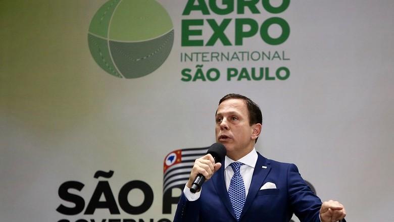 Doria Agro Expo Internacional (Foto: Governo do Estado de São Paulo)