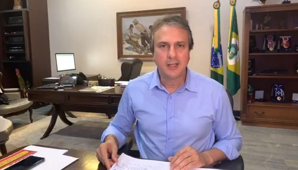 Governador Camilo Santana prorroga quarentena por mais 15 dias no ...