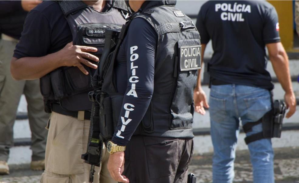Polícia Civil vai investigar crime contra mulher de 28 anos que foi morta a tiros na porta de casa na Bahia   — Foto: Divulgação / Ascom da Polícia Civil