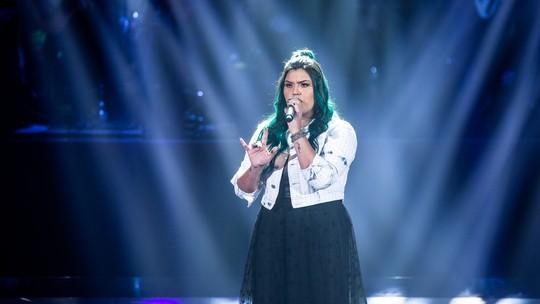 Paula Araujo fala da repercussão do 'The Voice: 'Realidade totalmente diferente do que vivia'