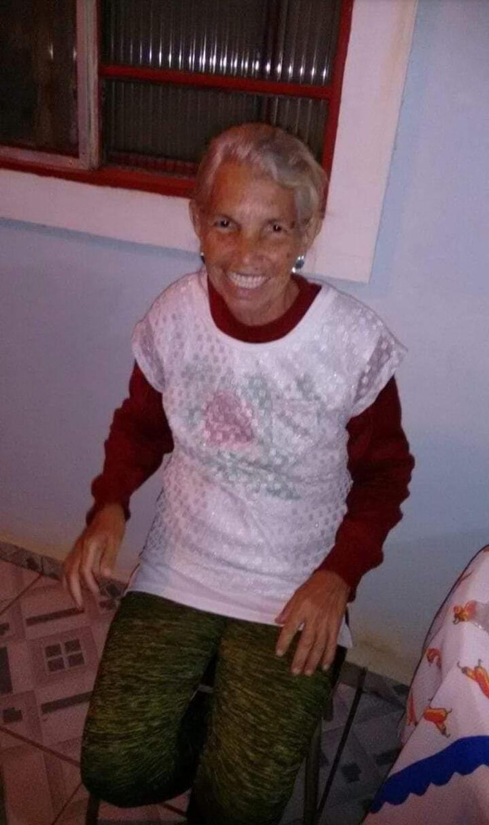 Maria Silvia Infante era irmã de Maria Cristina Infante — Foto: Arquivo Pessoal/Thalita Silva
