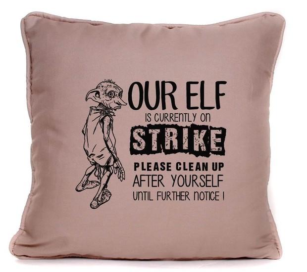 Seu elfo está em greve, favor limpar você mesmo por tempo indeterminado! (Foto: Reprodução/ Amazon)