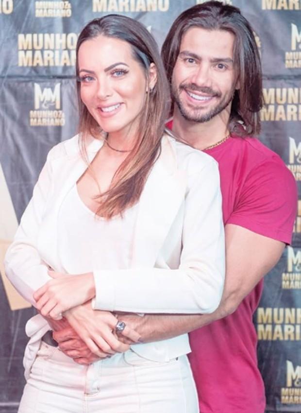 Carla Prata e Mariano (Foto: Reprodução/Instagram)