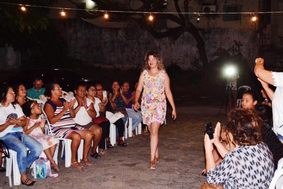 Desfile vai apresentar roupas produzidas por artesãs da região metropolitana de Natal — Foto: Divulgação