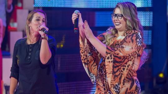 Maya Rodrigues celebra sucesso depois de ter cantado com Marília Mendonça no 'Caldeirão'