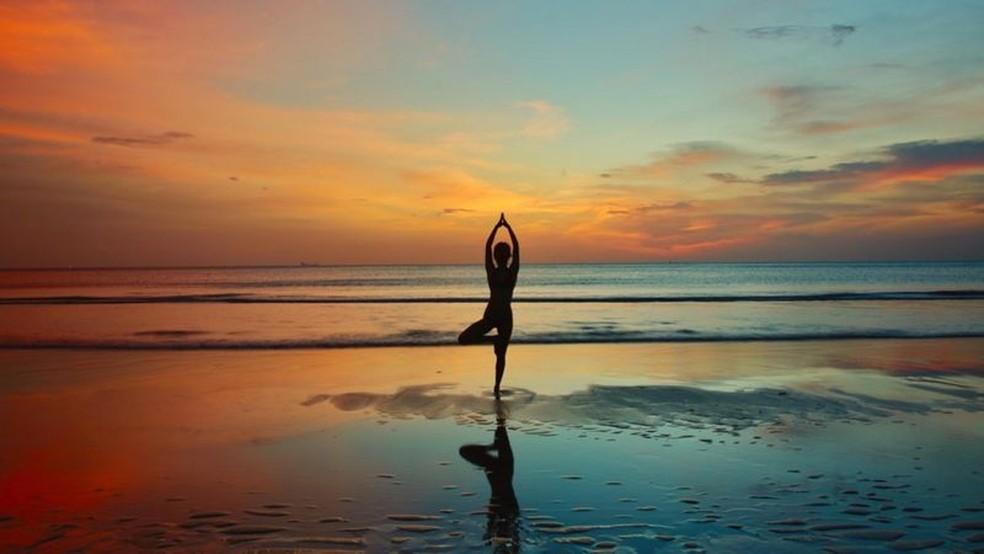 Contato com a natureza pode trazer efeitos benéficos para a saúde mental. — Foto: Getty Images via BBC