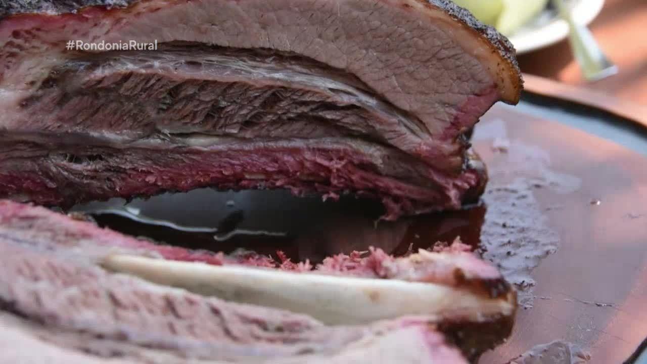 Culinária: Costela bovina defumada