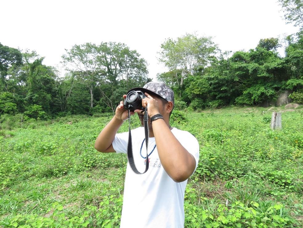 Objetivo da ação é que a ave evite ser extinta e continue sendo observada na Floresta Amazônica. — Foto: Divulgação/Almério C. Gusmão