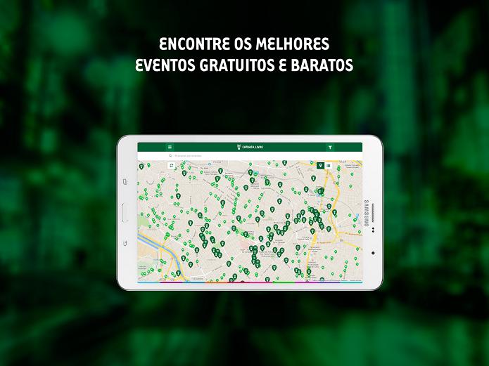 Catraca Livre é um app para encontrar os melhores eventos gratuitos e baratos (Foto: Divulgação/Catraca Livre)