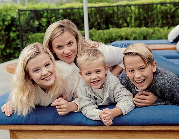 Reese Witherspoon,  Ava, Tennessee e Deacon (Foto:  )