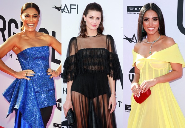 Juliana Paes, Isabeli Fontana e Jade Seba (Foto: Getty Images)