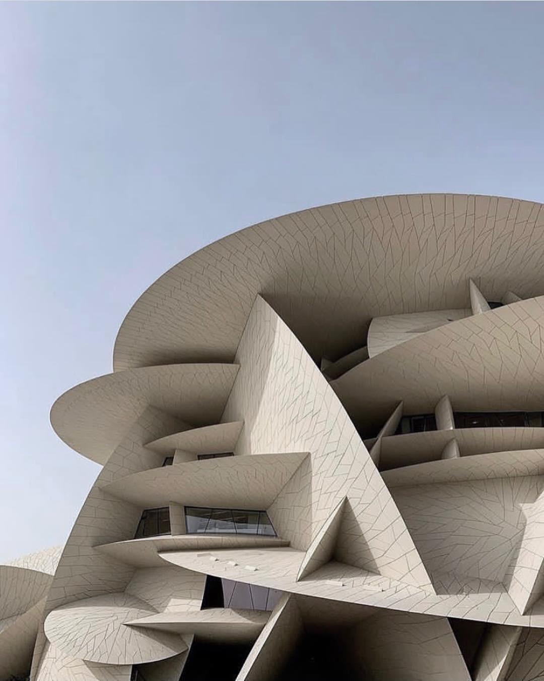 Conheça o novo Museu Nacional do Qatar que nasce como ícone arquitetônico (Foto: Divulgação)
