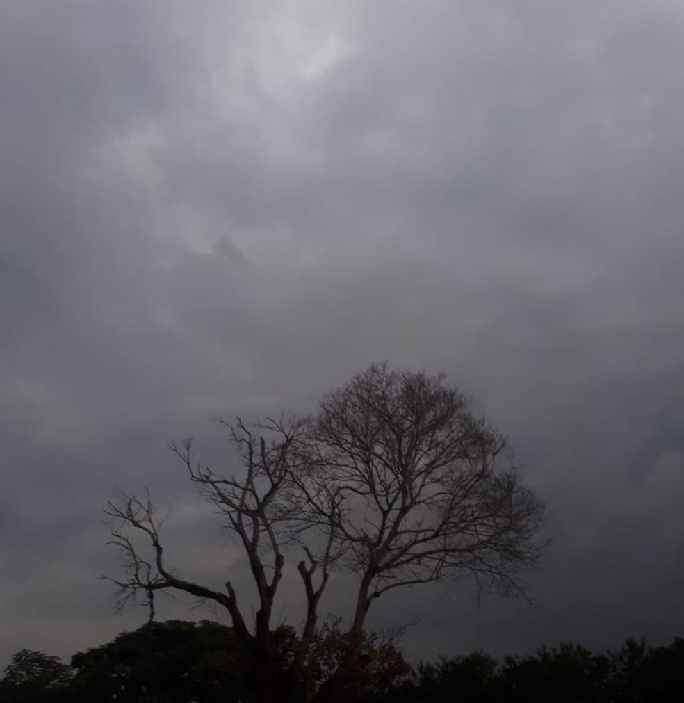 Semana em RO começa com tempo nublado com pancadas de chuva e trovoadas, segundo Sipam — Foto: Ana Kézia Gomes/ G1