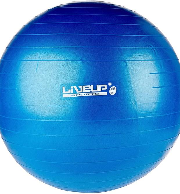 Bola suiça pode ser interessante para amantes de pilates  (Foto: Foto: Divulgação/LiveUp)