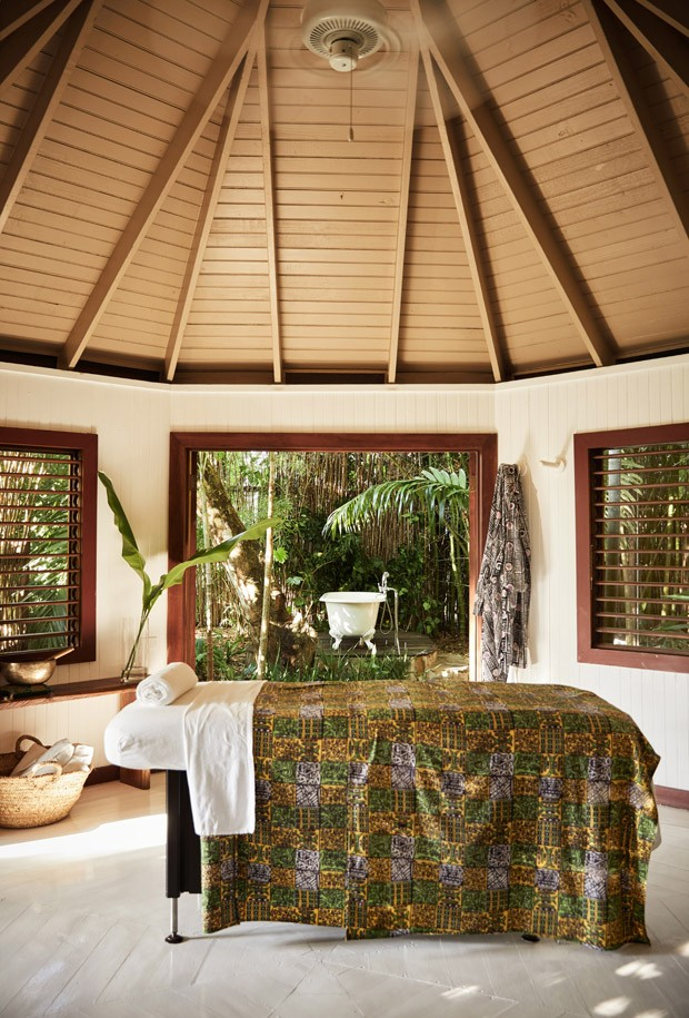 GoldenEye, Oracabessa, JamaicaFieldSpa King Rm w/ outdoor shower/tub (Foto:  )