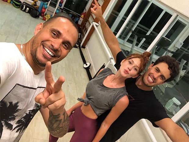 Marina Ruy Barbosa foi para a academia na noite desta nesta sexta-feira (14) (Foto: Reprodução/Instagram)