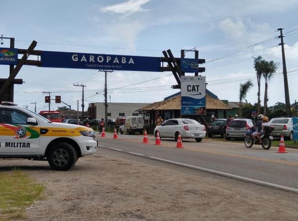 Garopaba irá vai liberar a entrada de turistas com teste negativo para Covid — Foto: Prefeitura de Garopaba/ Divulgação