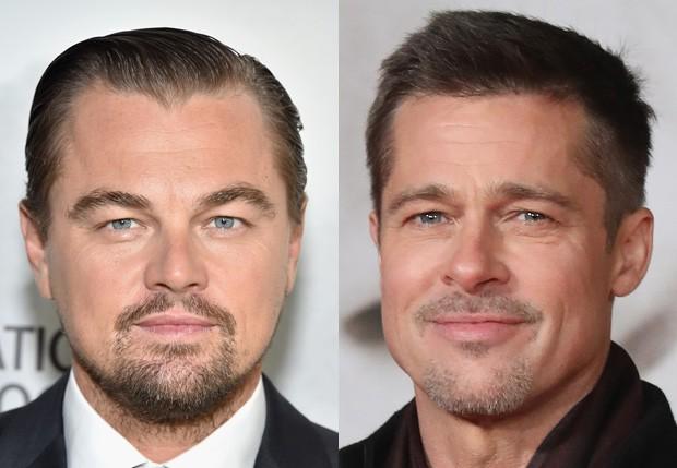 Leonardo DiCaprio e Brad Pitt (Foto: Getty Images)