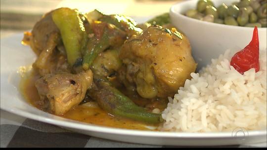 Aprenda como fazer receita de frango com quiabo no Chef JPB