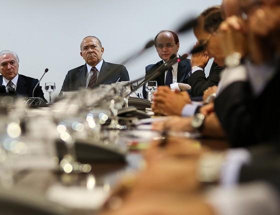 """Depois de denunciar a existência de locaute, o governo passou a criticar os """"intervencionistas"""" infiltrados no movimento dos caminhoneiros (Foto: MARCOS CORRÊA/PR)"""