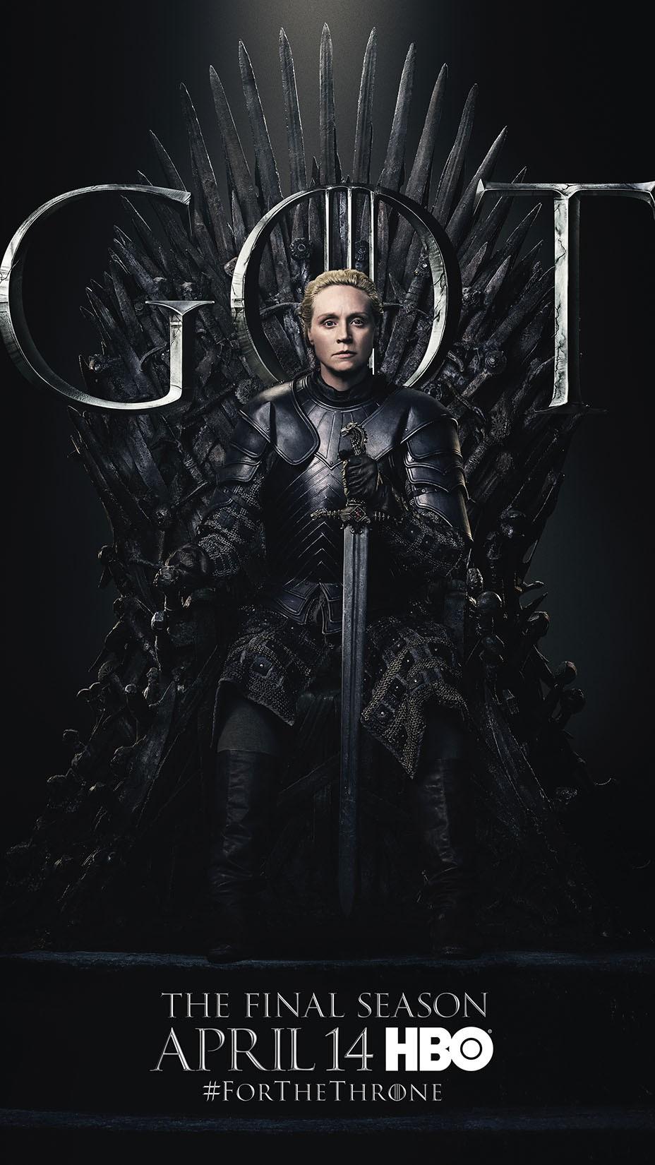 Cartaz oficial da oitava temporada de Game of Thrones (Foto: divulgação)