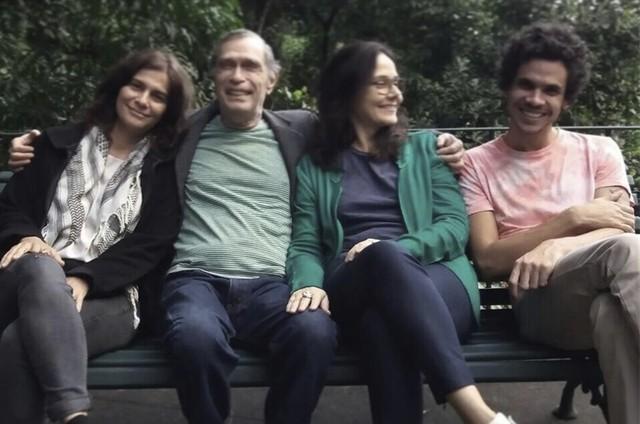 Equipe do documentário sobre Jorge Mautner (Foto: Divulgação)