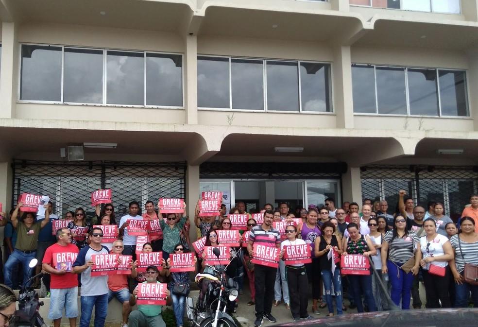 Professores da rede pública começam greve no Pará, nesta quarta (2). (Foto: Divulgação/Sintepp)