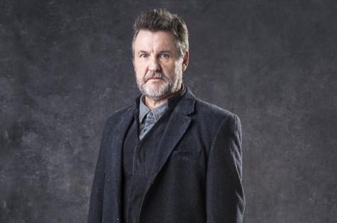 Antonio Calloni interpreta Egídio (Foto: TV Globo)