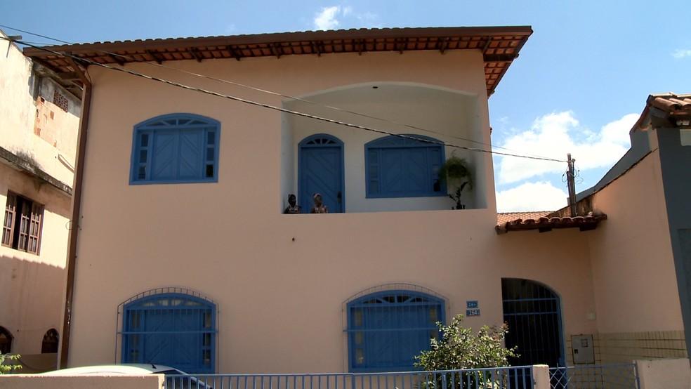 Casa onde os amigos estavam bebendo em Vitória, no Espírito Santo — Foto: Fernando Estevão/ TV Gazeta