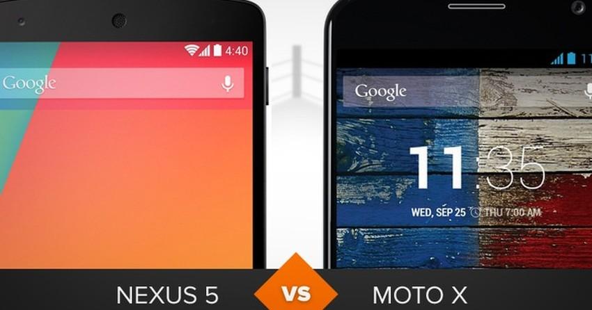 Nexus 5 ou Moto X? Veja comparativo e descubra quem se saiu melhor