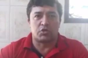 Liédio Luiz da Silva durante live