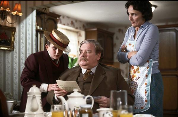Richard Griffiths em cena de 'Harry Potter' (Foto: Divulgação)