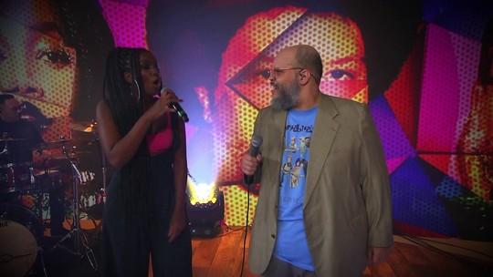 Iza e Ed Motta lembram 20 anos sem Tim Maia em musical do Fantástico