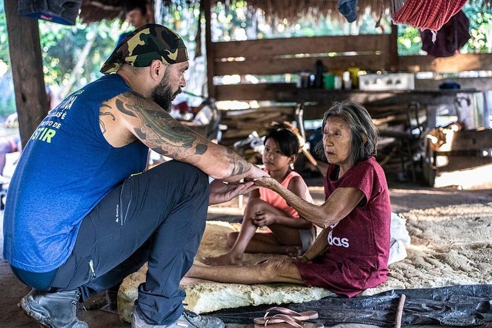 ONG foi criada há cinco anos e já percorreu RO, AM e agora MT — Foto: Doutores Sem Fronteiras/Divulgação