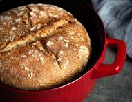 Como fazer pão broa com levain, crocante por fora e macio por dentro
