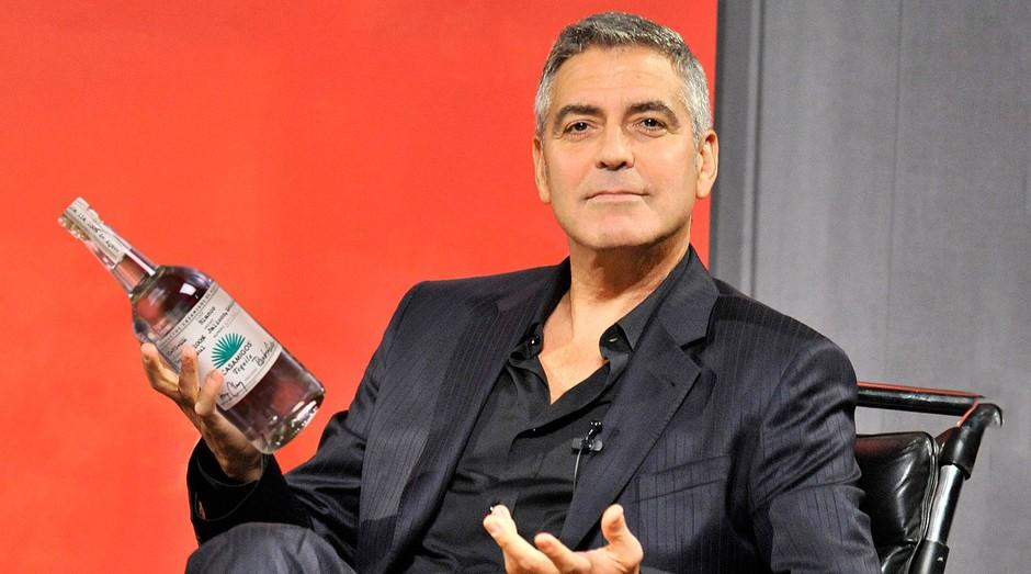 George Clooney criou marca de tequila que acabou vendida por US$ 1 bilhão (Foto: Tequila Casamigos)