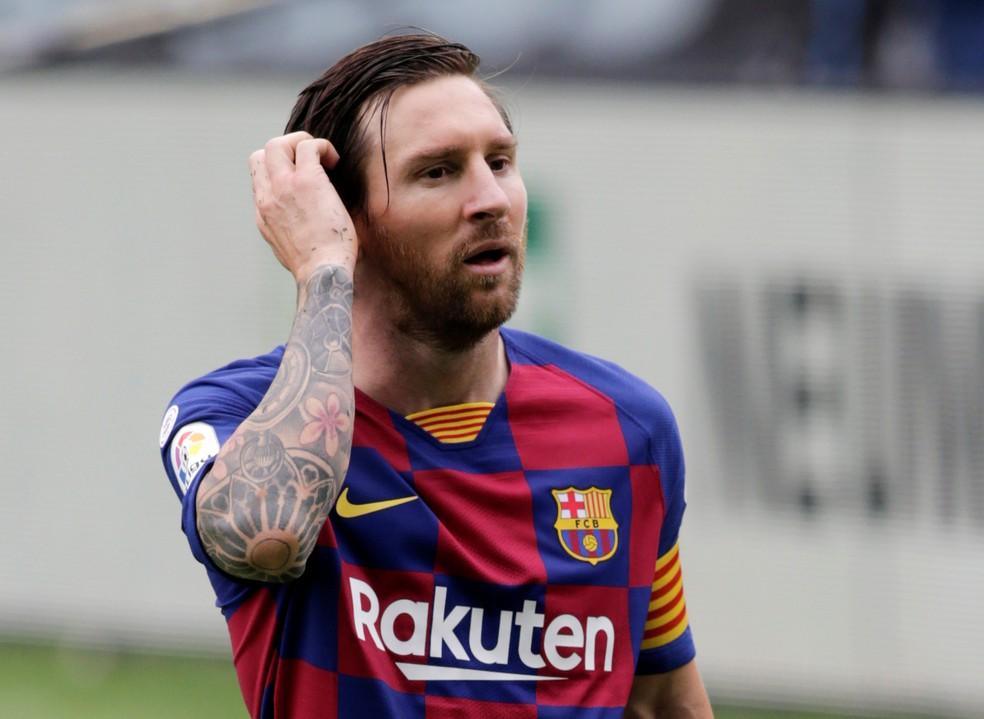 Messi contra o Celta: duas assistências para os gols de Suárez, mas tropeço do Barcelona mesmo assim — Foto: Reuters