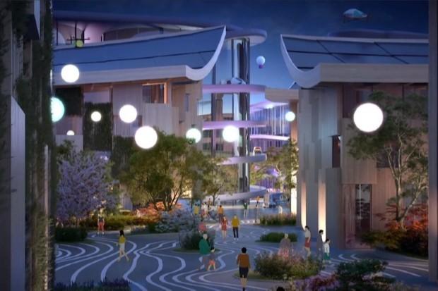 Toyota projetou modelo de cidade (Foto: Divulgação)