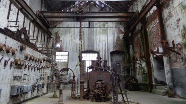 A Paisaje Industrial Fray Bentos do Uruguai teve um impacto profundo na forma como o mundo come (Foto: SHAFIK MEGHJI/BBC )