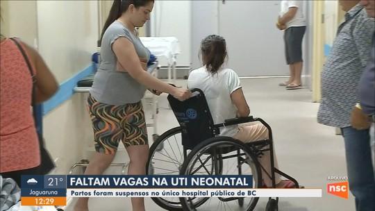 Hospital suspende realização de partos em Balneário Camboriú