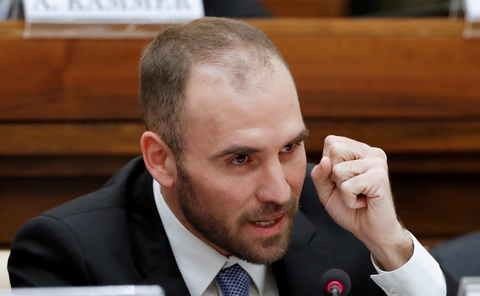 O ministro da Economia da Argentina, Martin Guzman, em imagem de arquivo — Foto: Remo Casilli/Reuters