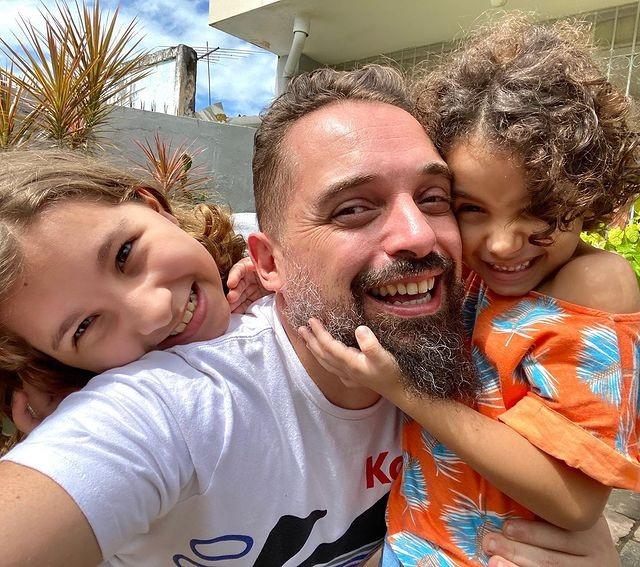 Chaps Melo y sus hijas (Foto: Reproducción / Instagram)